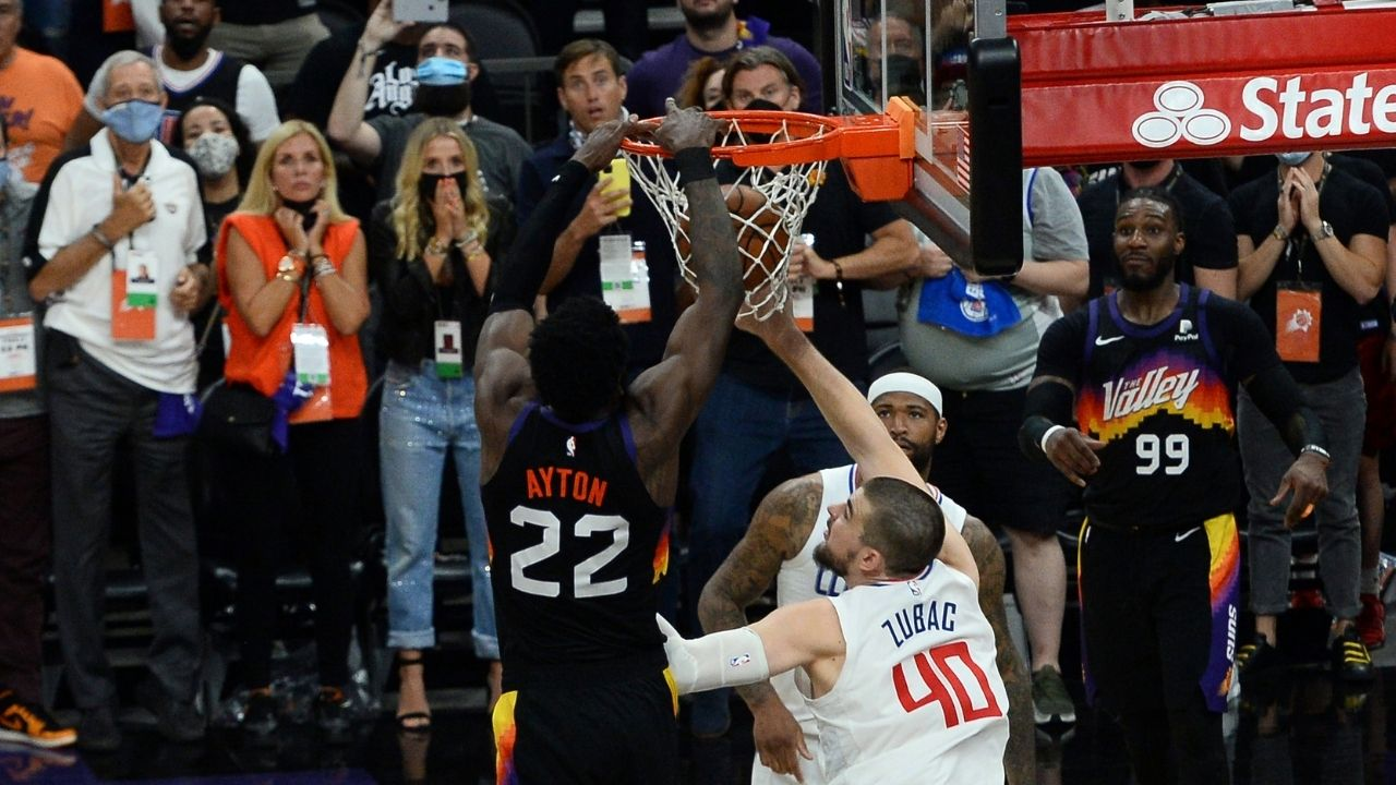 """""""Deandre Ayton's dunk was an all-time robbery"""": Skip Bayless indignant with NBA referees for blown out-of-bounds call in Clippers vs Suns Game 2"""