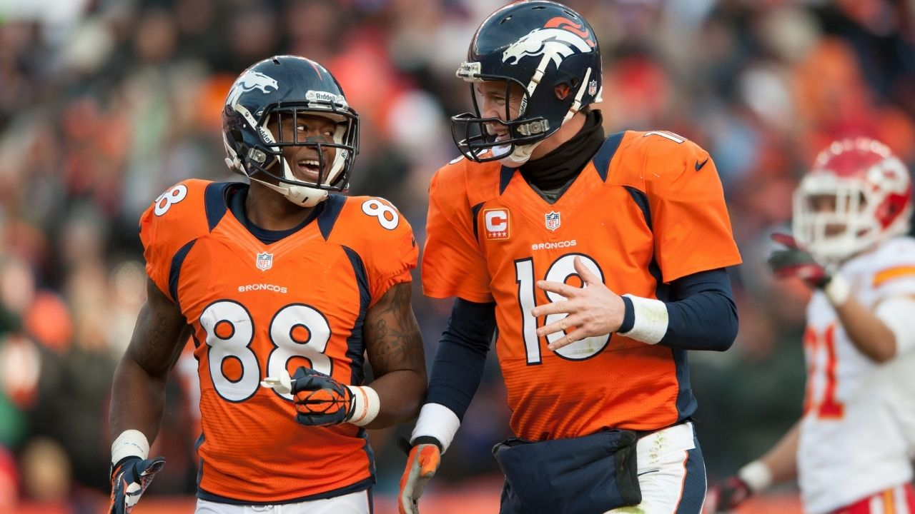 """""""You did it the right way"""": Peyton Manning Reacts to Demaryius Thomas Retiring With the Denver Broncos"""