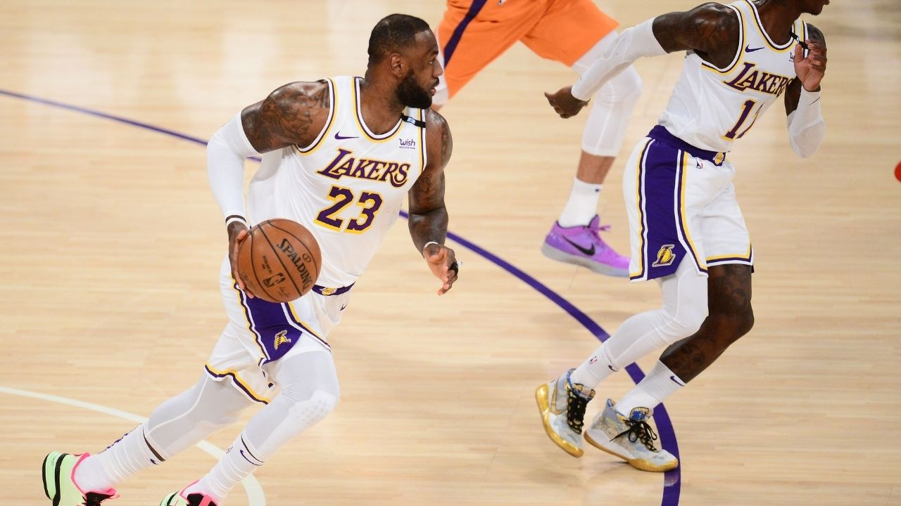 """""""Dennis Schoder had the audacity to want $80 million?"""" Kendrick Perkins rips into Lakers star for having 0 points in an embarrassing Game 5 loss to Devin Booker and the Suns"""