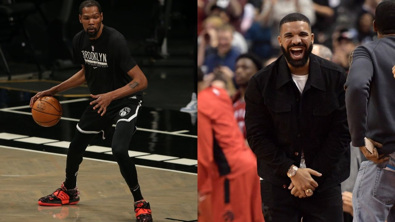 Kevin Durant and Draymond Green sound off in Drake's comment section on Instagram: NBA superstars react to the rapper's hilarious Klay Thompson impersonation