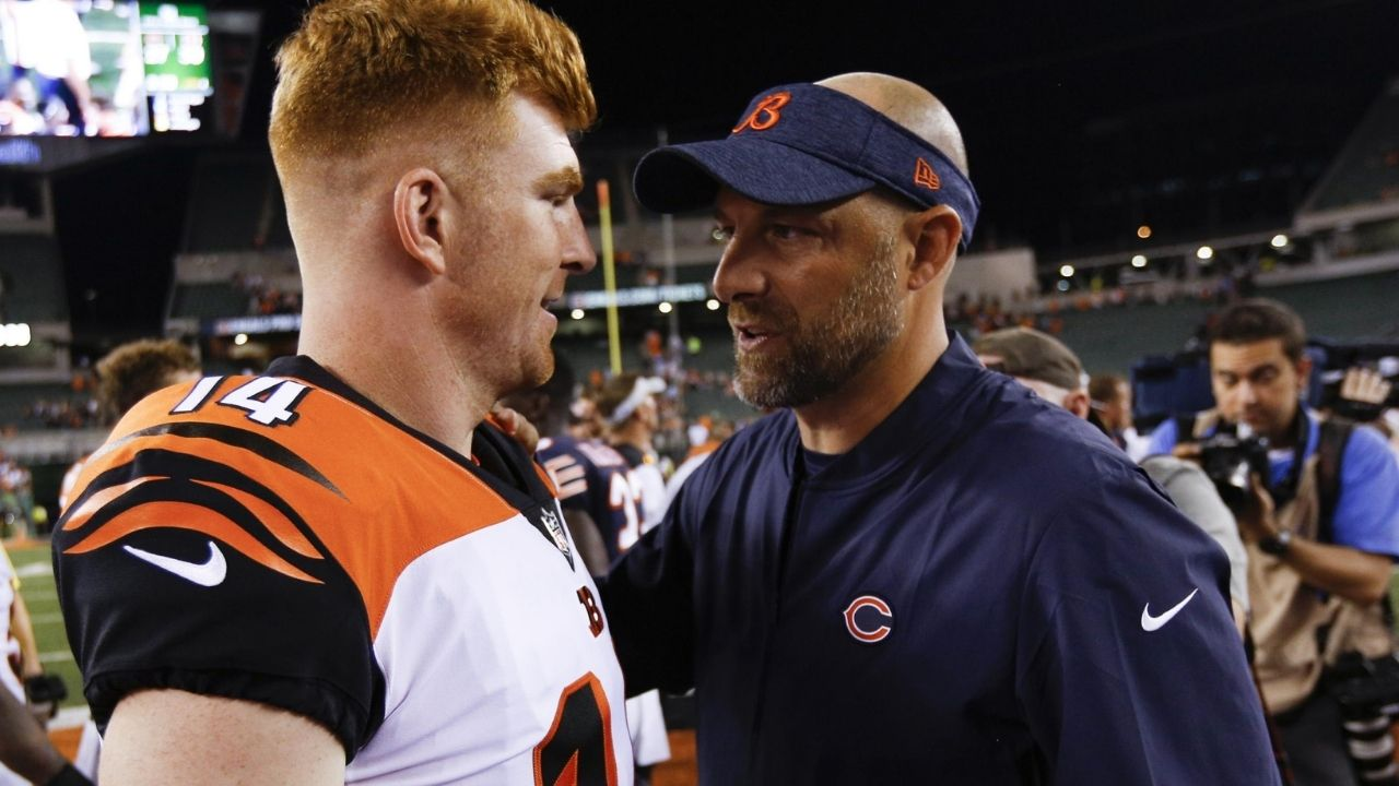 """""""Andy Dalton last I checked is still Andy Dalton"""": Nick Wright Says Justin Fields Should Be Chicago Bears Starter"""
