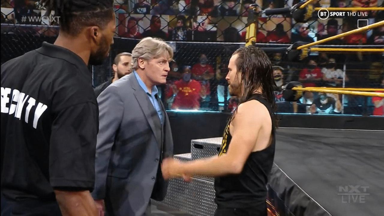 Adam Cole makes violent WWE NXT return