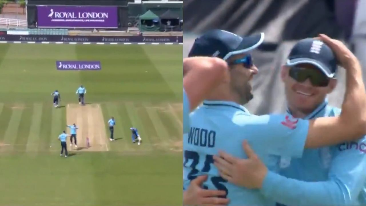 Sam Billings fielding: Billings nails direct-hit to brilliantly run out Praveen Jayawickrama at Riverside Ground