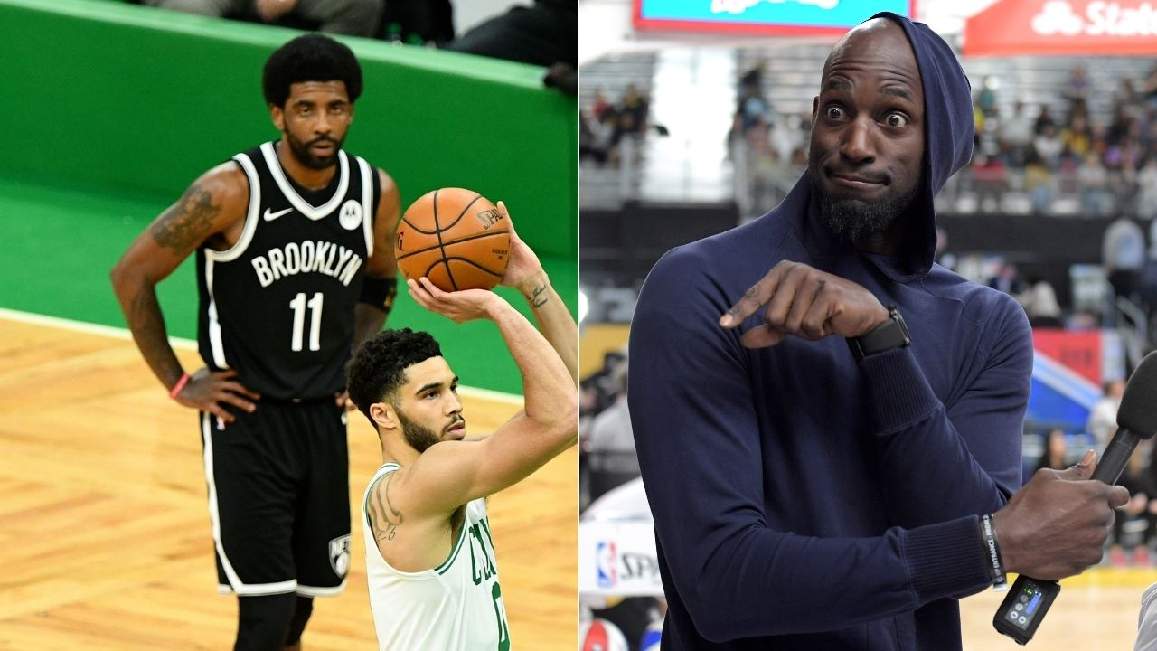 """""""Kevin Garnett has crossed that line plenty of times"""": Richard Jefferson defends Kyrie Irving after Celtics legend accuses the Nets star of stomping on 'Lucky'"""