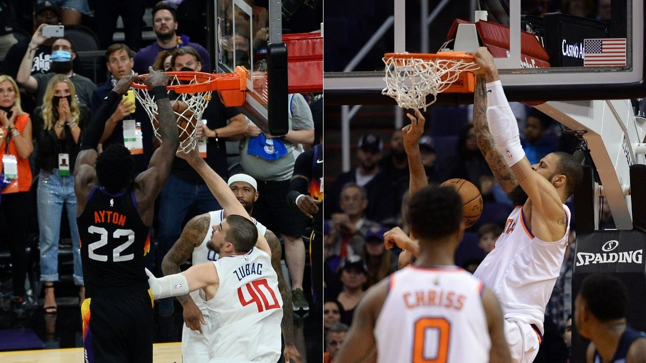 """""""Deandre Ayton pulled a Tyson Chandler"""": When Phoenix Suns ran similar out-of-bounds play for 7'1"""" center in 2017 and won the game on inbounds lob"""