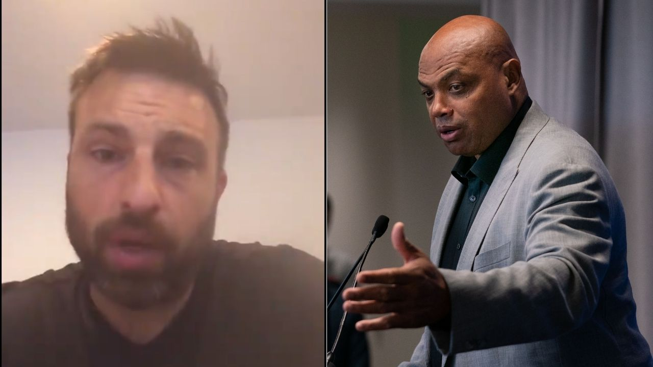 """""""Charles Barkley, do you think it's important to get a GUARANTEE right?"""": Danny Rouhier impersonates both Shaquille O'Neal and Chuck in hysterical Inside the NBA segment"""