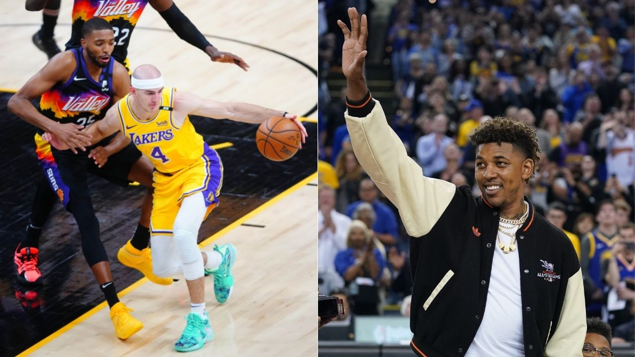 """""""Alex Caruso should be happy just for being there"""": Former Lakers star Nick Young takes digs at LeBron's teammate for subpar play vs Suns"""
