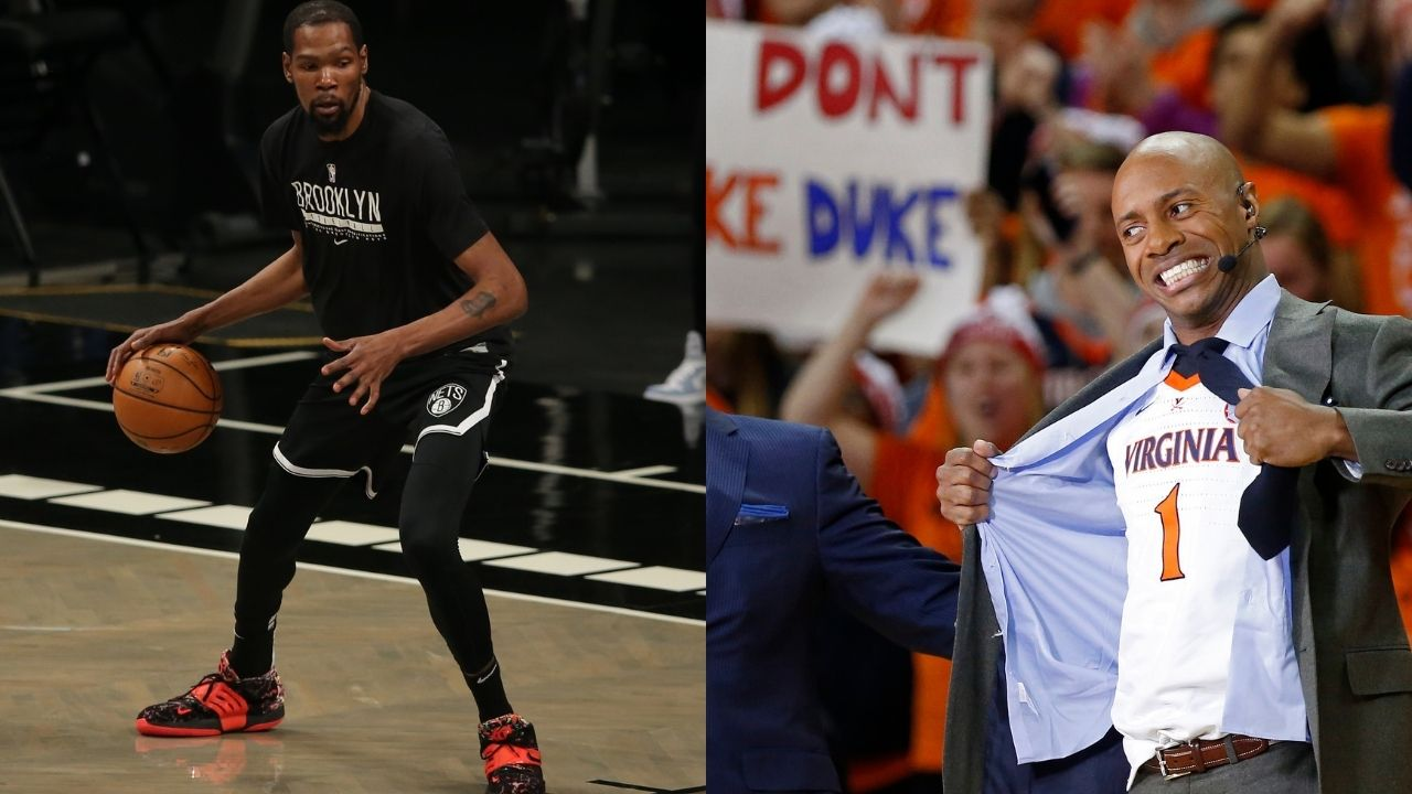 """""""Jay Williams is f***ing lying about the Giannis Antetokounmpo quote"""": Kevin Durant immediately fires back at the ESPN analyst for claiming the Nets superstar took shots at the Bucks MVP"""