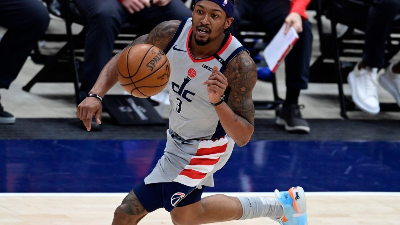 """""""These hands are for everybody"""": Bradley Bealclaims that he would retaliate against any fans who disrespects him following the Wizards Game 4 win over the Sixers"""