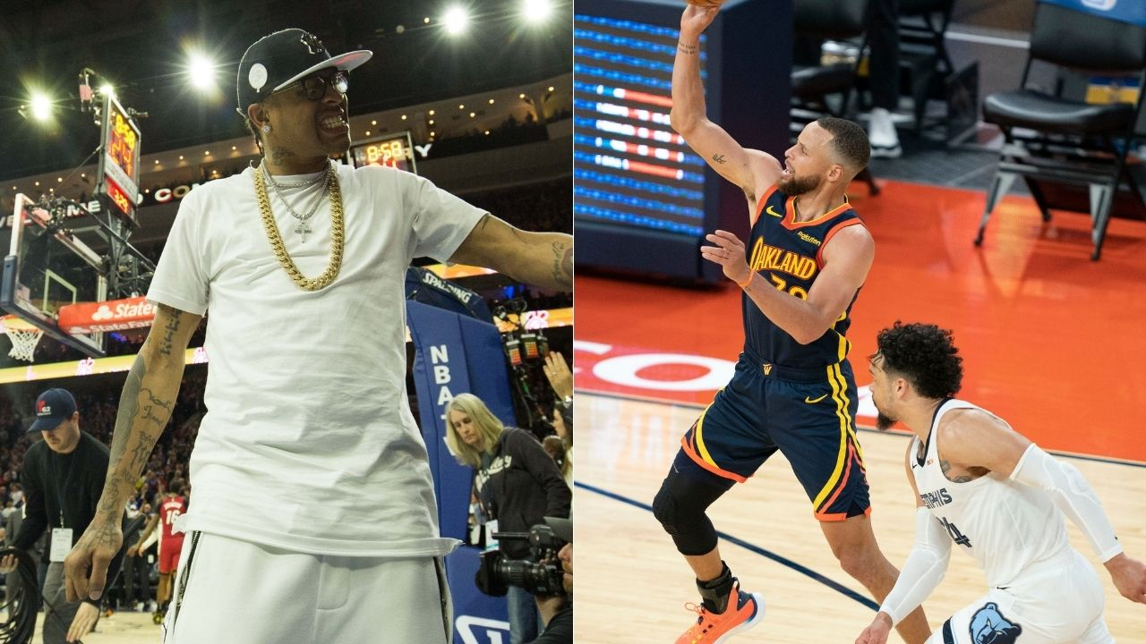 """""""Stephen Curry or Allen Iverson who ya got"""": Shaquille O' Neal stirs a conversation about who could be the NBA's GOAT point guard"""