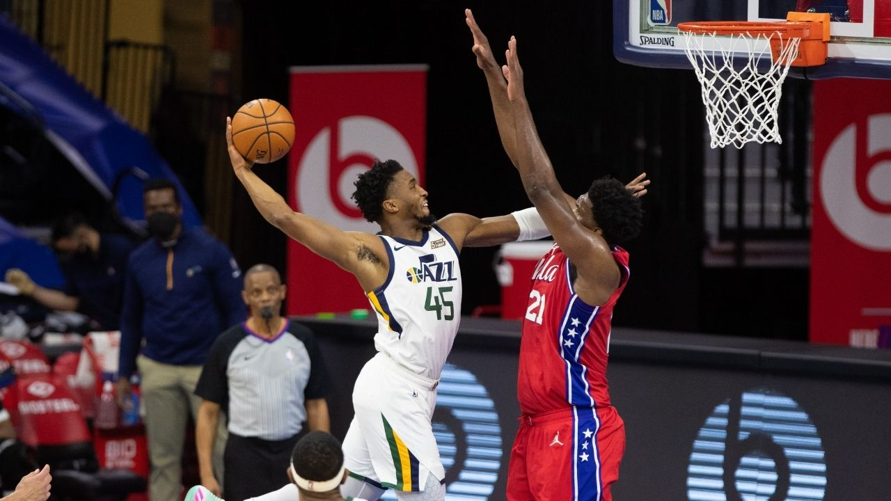 """""""Donovan Mitchell and Joel Embiid are breaking Michael Jordan's records"""": Sixers and Jazz stars are on track to break the GOAT's playoff points per minute record"""