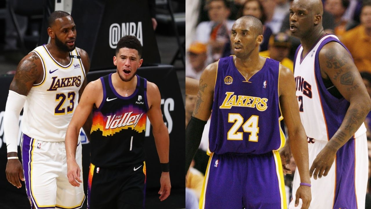 """""""Kobe Bryant told Devin Booker to 'Be Legendary'"""": Suns superstar eliminates LeBron James and the Lakers in Game 6 following a Kobe-esque performance"""
