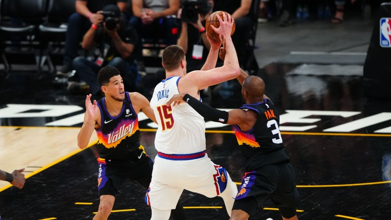 """Remember when I said Chris Paul deserves MVP over Nikola Jokic?"": Kendrick Perkins praises the Suns star after an irresistible Game 2 performance vs Nuggets"
