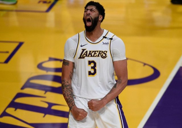 """""""Anthony Davis put a lot of work into his body and looks imposing"""": Frank Vogel promises 'scary hours' ahead for the rest of the league as the Lakers superstar fine tunes his physique"""
