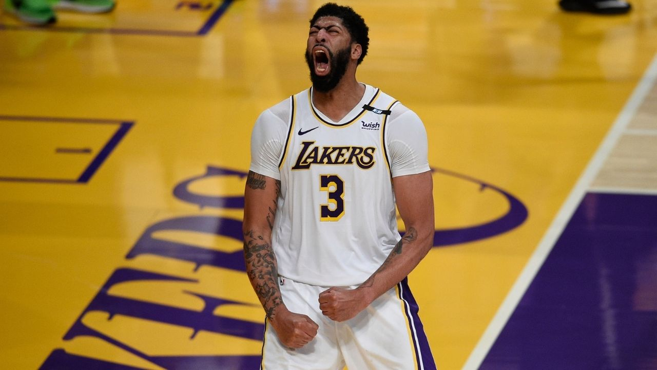 """""""Anthony Davis needs to play center and LeBron James needs to move back down"""": Magic Johnson reveals what changes should the Los Angeles Lakers make in order to be successful"""