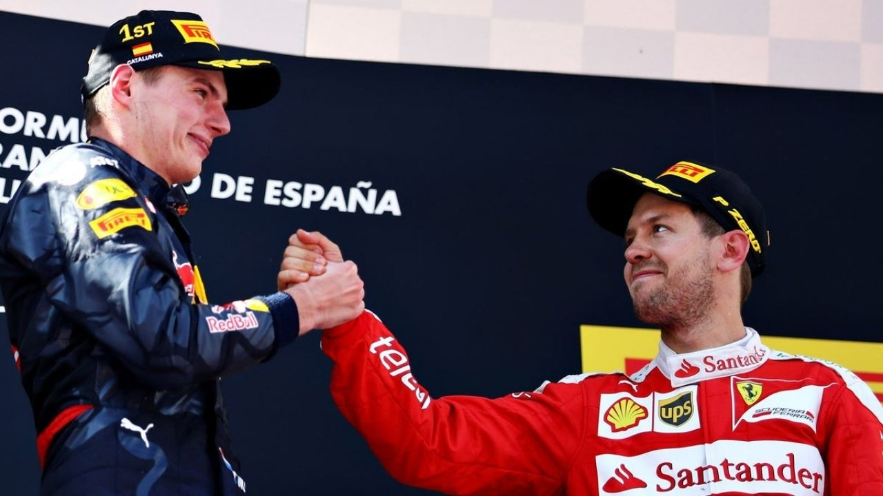 """""""It's still very early""""– Sebastian Vettel thinks peace of mind should be more important than points lead for Max Verstappen"""