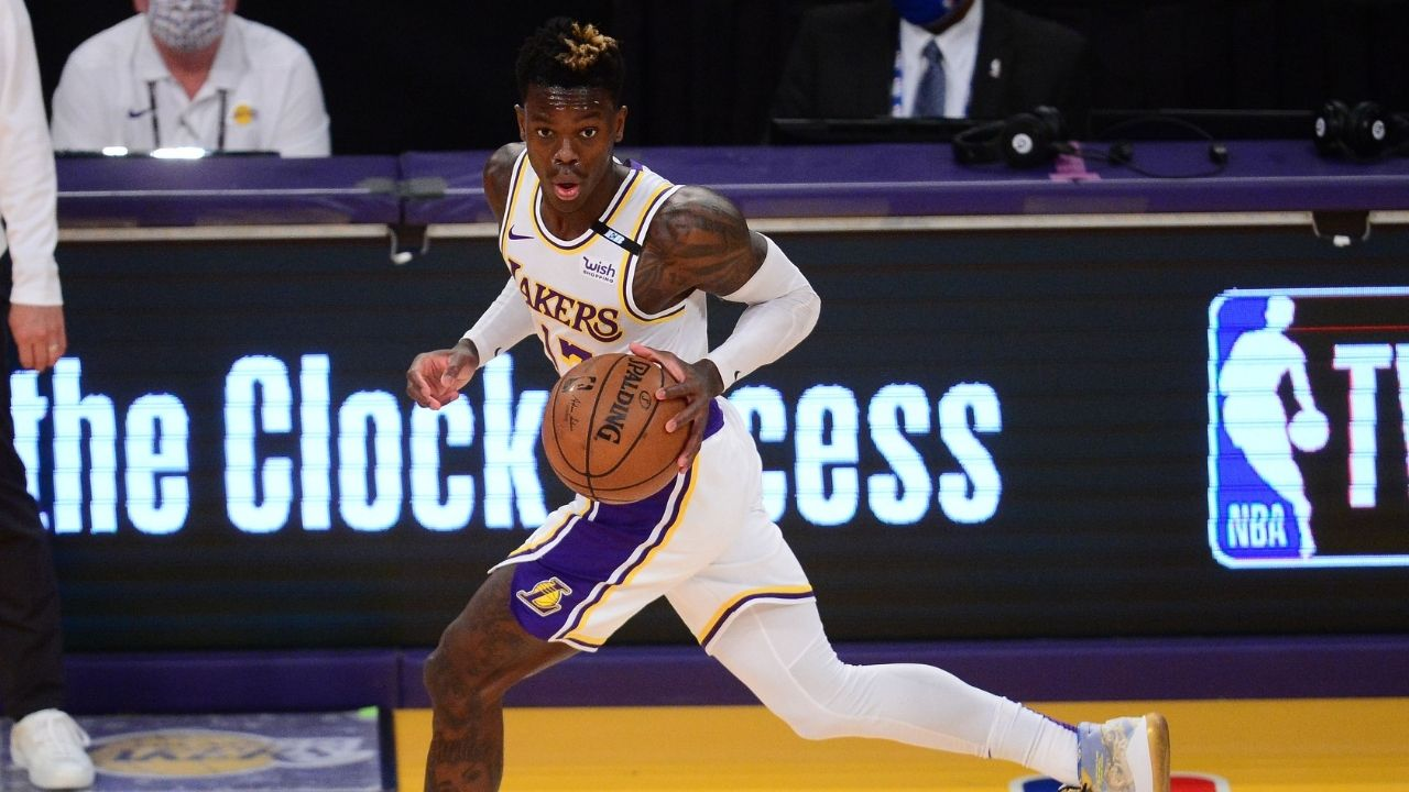 """""""Dennis Schroder has removed PG for LA Lakers from his Instagram bio"""": German star sparks rumors of rift with LeBron James and co with his social media activity"""
