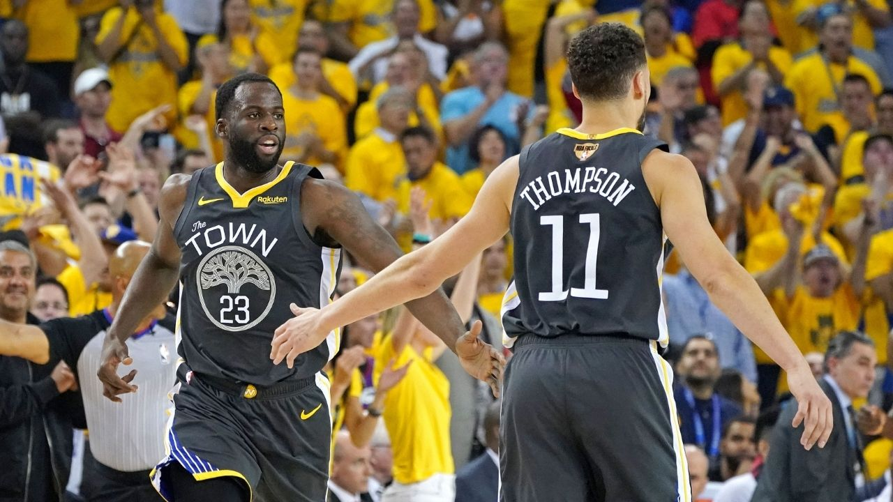 """""""Klay Thompson lied and said he got in a fight at the club"""": When Draymond Green hilariously exposed his Warriors teammate's cover story for getting a black eye"""