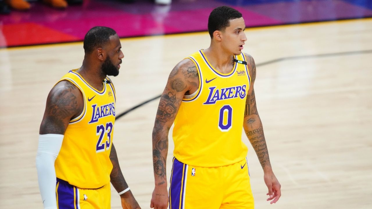 """""""Lakers have been trying to trade Kyle Kuzma all season long"""": NBA executives believe Rob Pelinka is planning for post-LeBron James era without 2017 draft pick"""