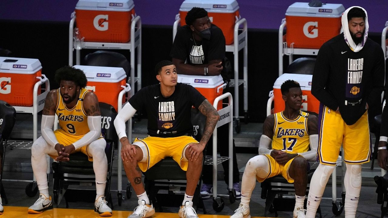 """""""Kyle Kuzma has removed Lakers from his Instagram bio"""": 25-year-old could be traded by Rob Pelinka amidst intense trade rumors ahead of 2021-22 season"""