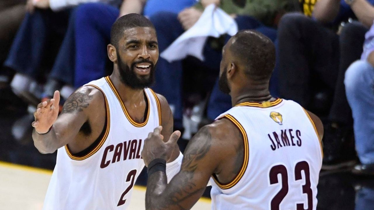 """""""LeBron James won a championship with no teammates"""": Stephen A Smith calls out Scottie Pippen for disrespecting Kyrie Irving's 2016 NBA Finals performances"""