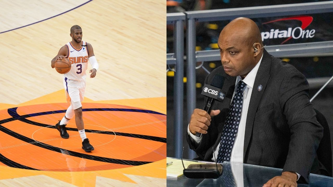"""""""Chris Paul is the MVP of the league but Devin Booker is the Suns MVP?"""": Kenny Smith hilariously calls out Charles Barkley on some questionable logic"""