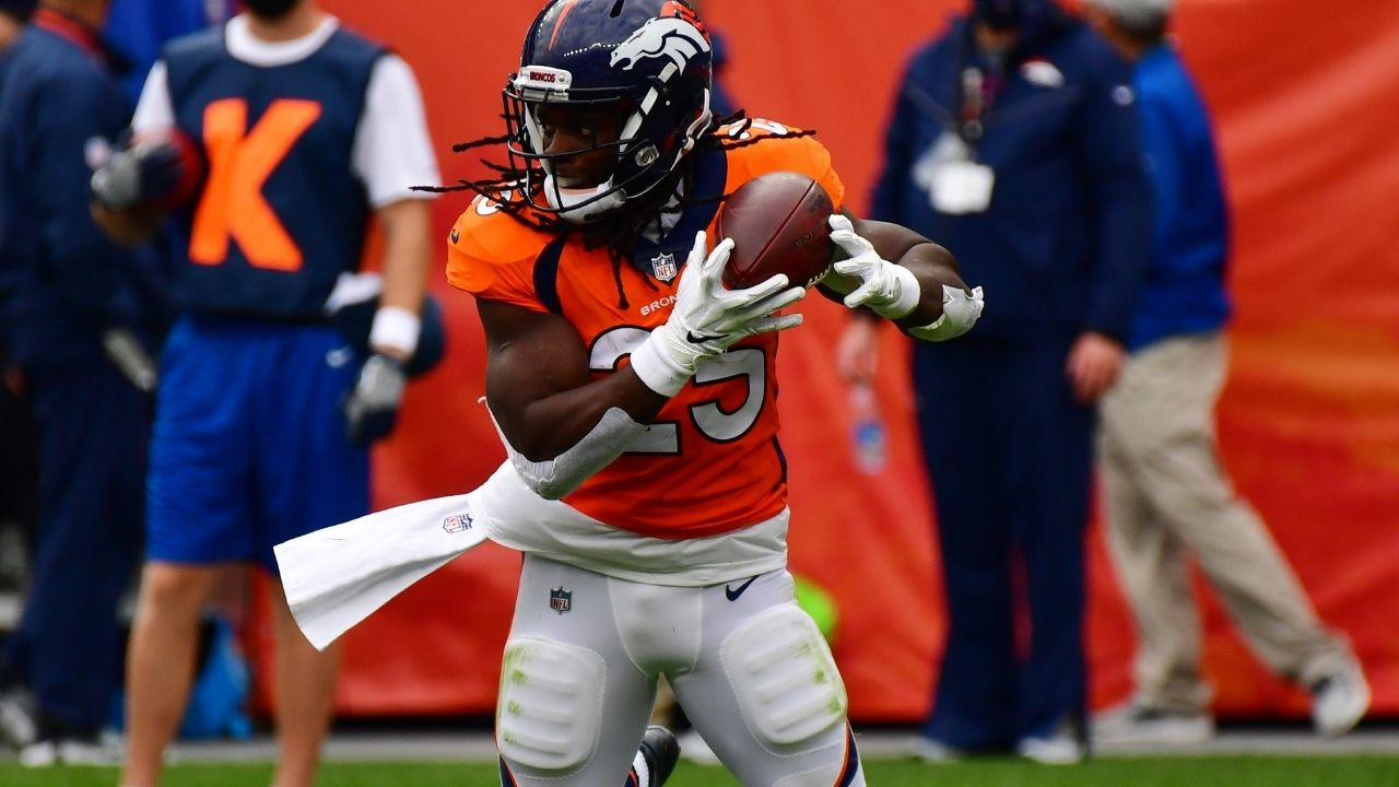 """Denver Broncos Running Back Battle: Melvin Gordon """"very confident"""" he will start over Javonte Williams at RB"""