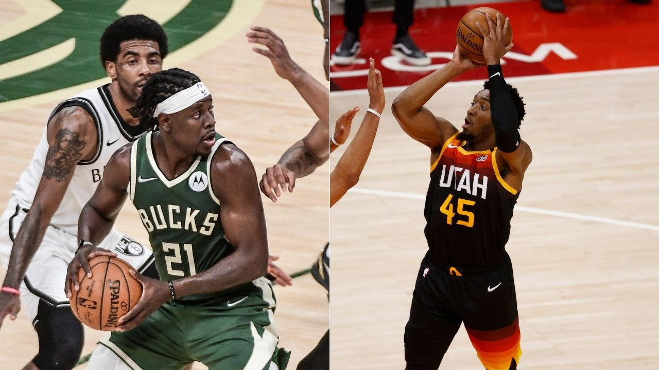"""""""Jrue Holiday bust my a**"""": Jazz star Donovan Mitchell reveals how former Pelicans guard clamped down and schooled him as a rookie"""