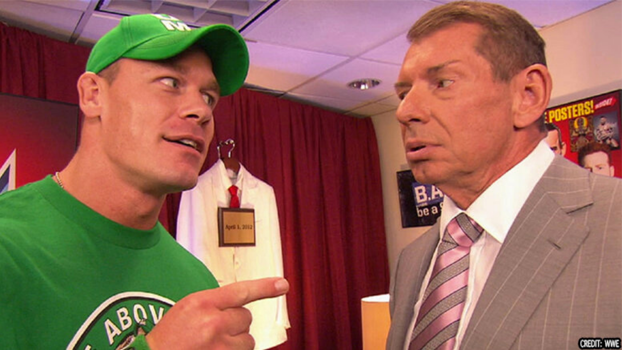 John Cena reportedly rejected Vince McMahon's plans for a heel turn