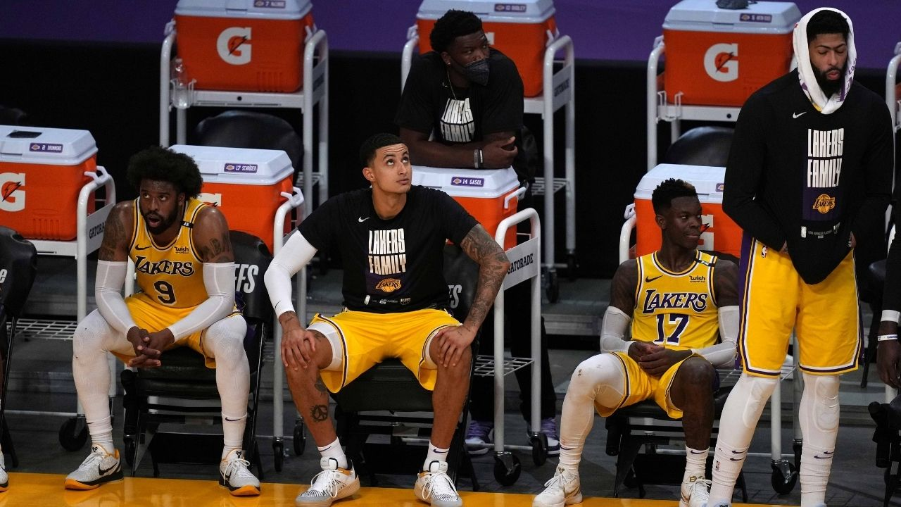 """""""LeBron James doesn't get along with Kyle Kuzma"""": Colin Cowherd speculates whether Lakers' front office will trade their forward for Damian Lillard or another superstar"""