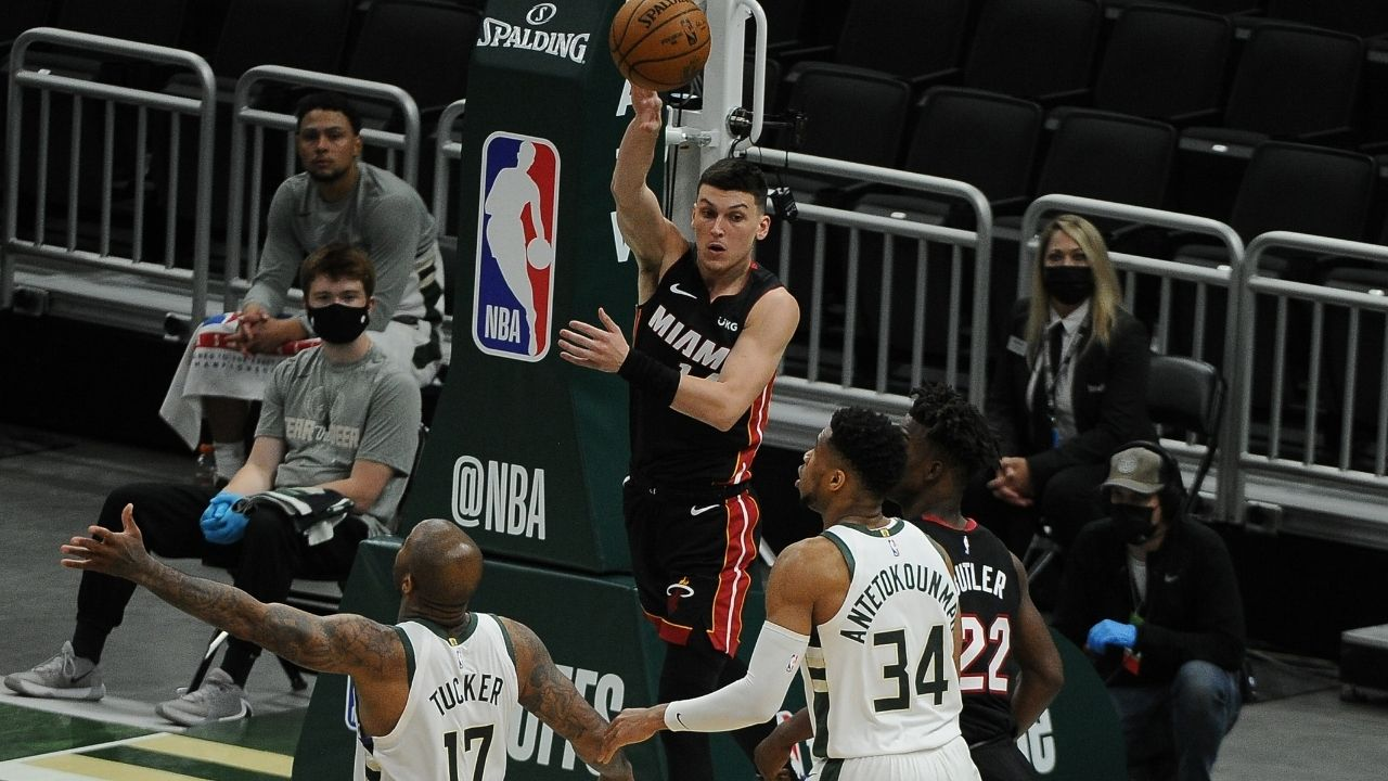 """""""Tyler Herro is part of the Miami Heat's future"""": Pat Riley puts his foot down regarding youngster's future with the franchise amid trade rumors"""