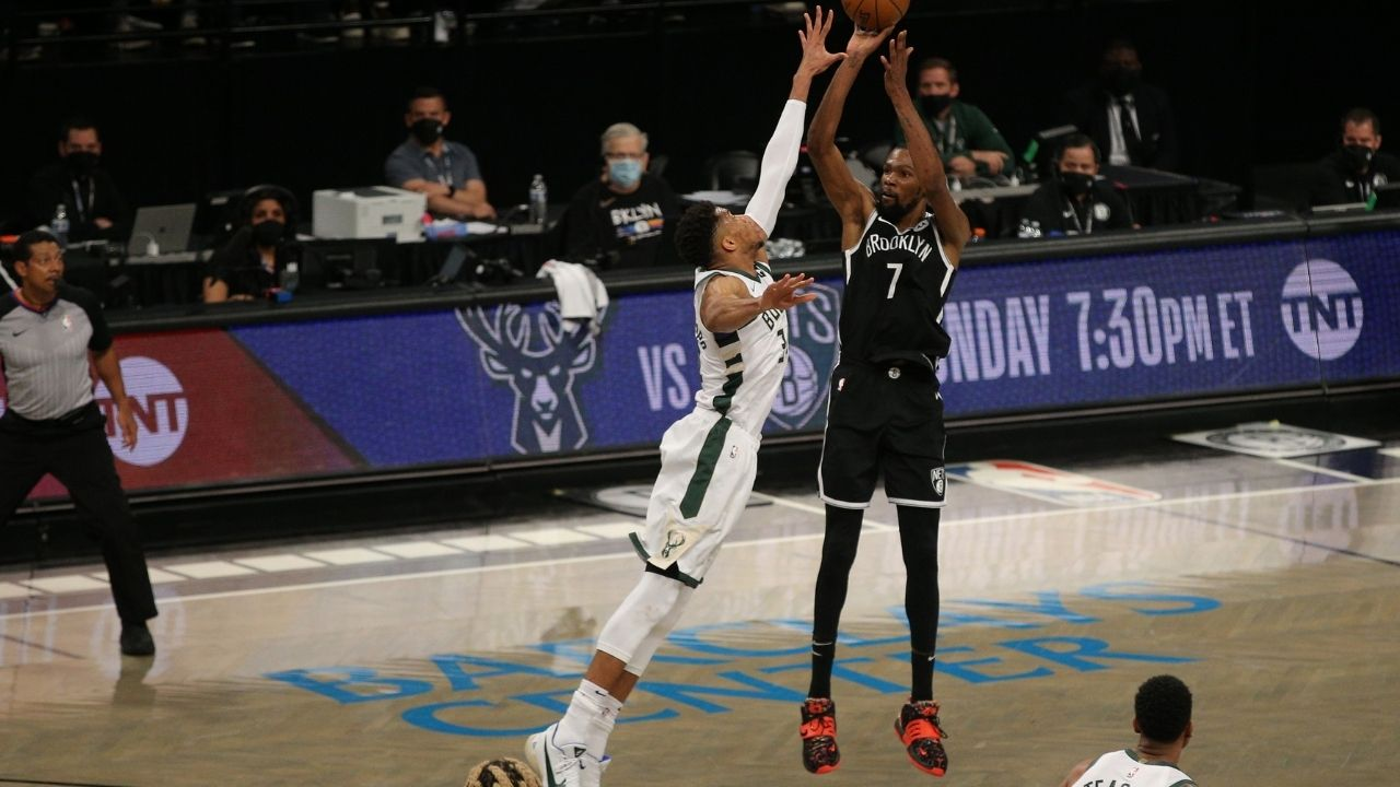 """""""The Bucks are getting their a** kicked by Kevin Durant and co"""": Stephen A Smith goes off on Giannis and the Bucks for putting up an 'embarrassing' effort in Game 2 against the Nets"""