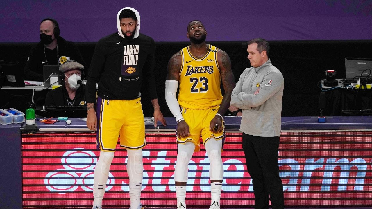 """""""Get the big guy healthy"""": LeBron James emphasizes the fitness of Anthony Davis as Lakers' top priority this offseason"""