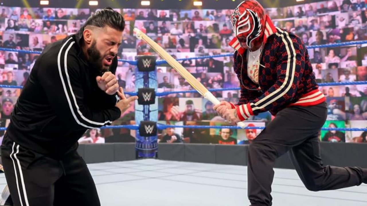 Roman Reigns vs Rey Mysterio Hell in a Cell match confirmed