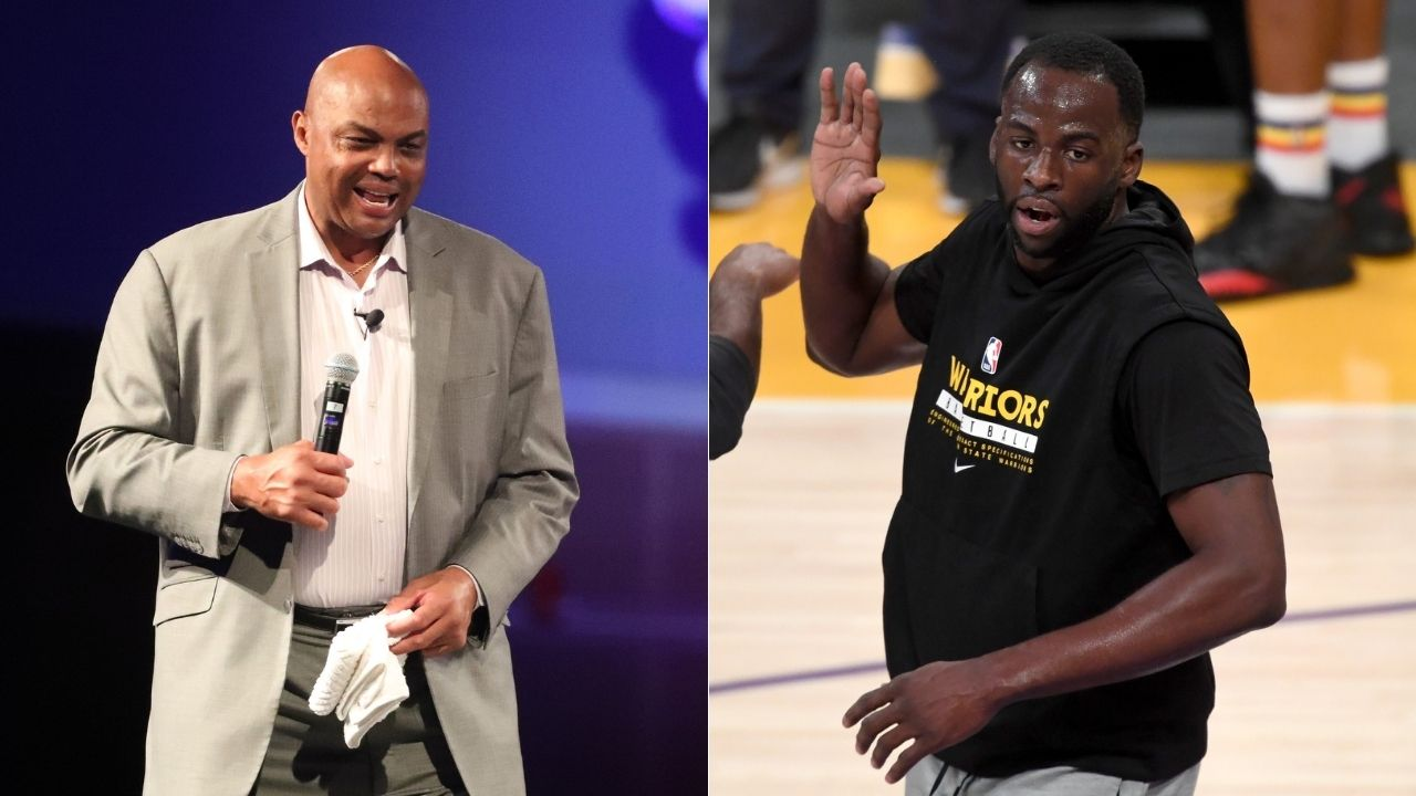 """""""Draymond Green has too many championships to activate the 'GUARANTEE' button"""": Charles Barkley hilariously gets trolled by the NBAonTNT crew for having 0 titles"""