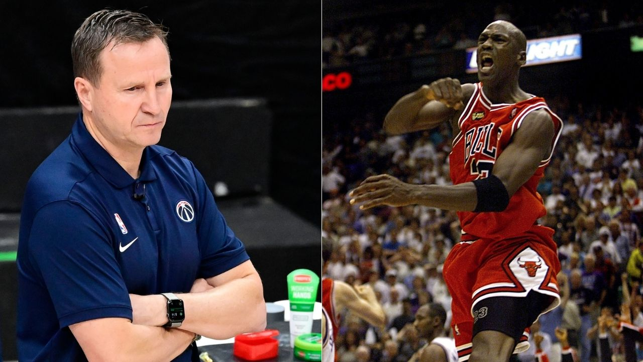 """""""Michael Jordan didn't even try to score on me"""": Former Wizards coach Scott Brooks narrates the one time the GOAT decided to show mercy on the basketball court"""