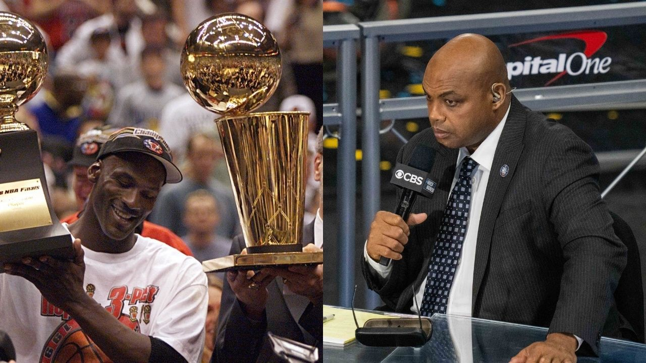 """""""Charles Barkley has been telling me that crap since he'd been here"""": Michael Jordan hilariously addressed the Suns legend's irritating statement about 'destiny' in the 1993 NBA Finals"""