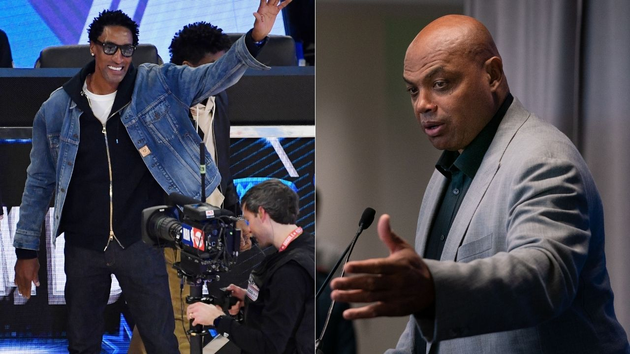 """""""Charles Barkley wouldn't fight a black man unless referees were around"""": Scottie Pippen takes shots at NBA legend in promo interview for his new brand of bourbon"""