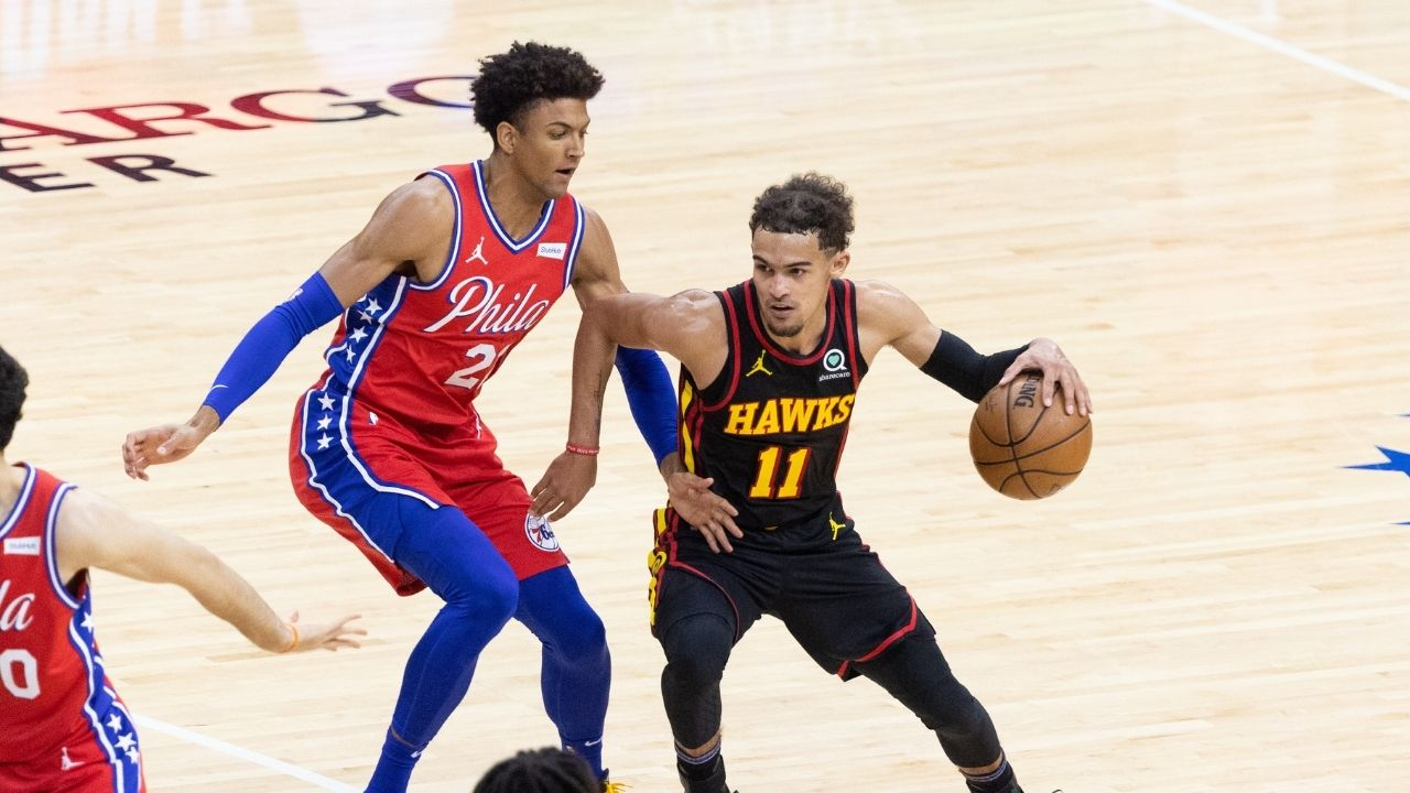 """""""Trae Young makes you choose your poison"""": How Doc Rivers tried several coverages on the Hawks star in Game 1, including traps, to no avail"""