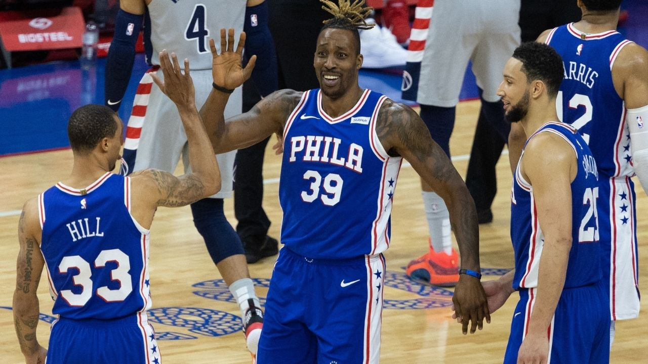 """""""Ben Simmons, I got your back man you are my brother and I love you"""": Philadelphia 76ers veteran Dwight Howards defends teammate Ben Simmons as fans slander after his underwhelming performances"""