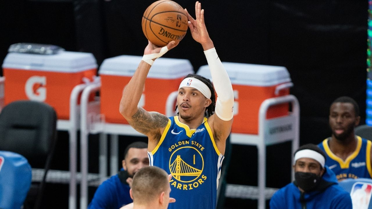 """""""Damion Lee for 3!"""": The Warriors star announces that him and Sydel Curry will be expecting a child in a hilarious Twitter message"""