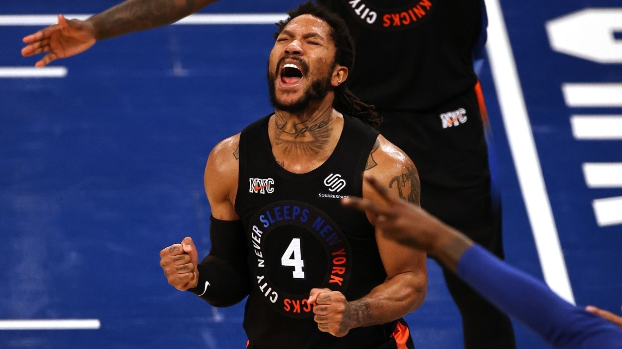 """""""Derrick Rose received fans' vote for 2021 NBA MVP"""": Nikola Jokic misses unanimous MVP as Knicks star is voted no. 1 in this year's race"""