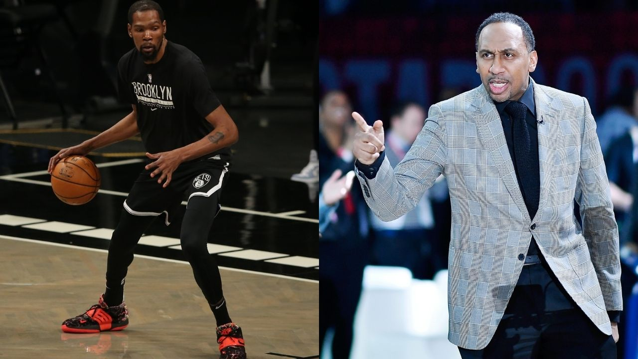"""""""Kevin Durant is the greatest player in New York basketball history"""": Stephen A Smith gives the edge to the Nets superstar over legends such a Patrick Ewing and Willis Reed"""