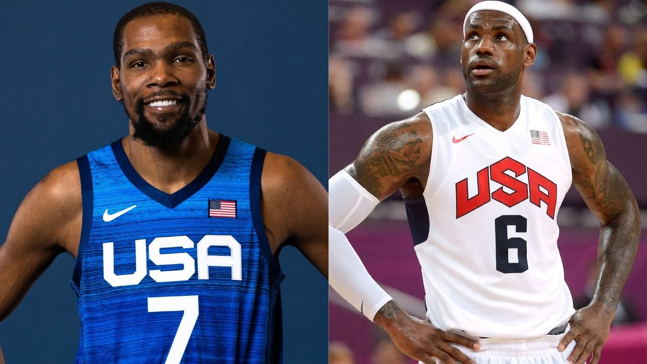 """""""Who needs LeBron James when we have Kevin Durant"""": Skip Bayless takes a shot at Lakers star will comparing KD to Michael Jordan in Team USA's Olympic campaign"""