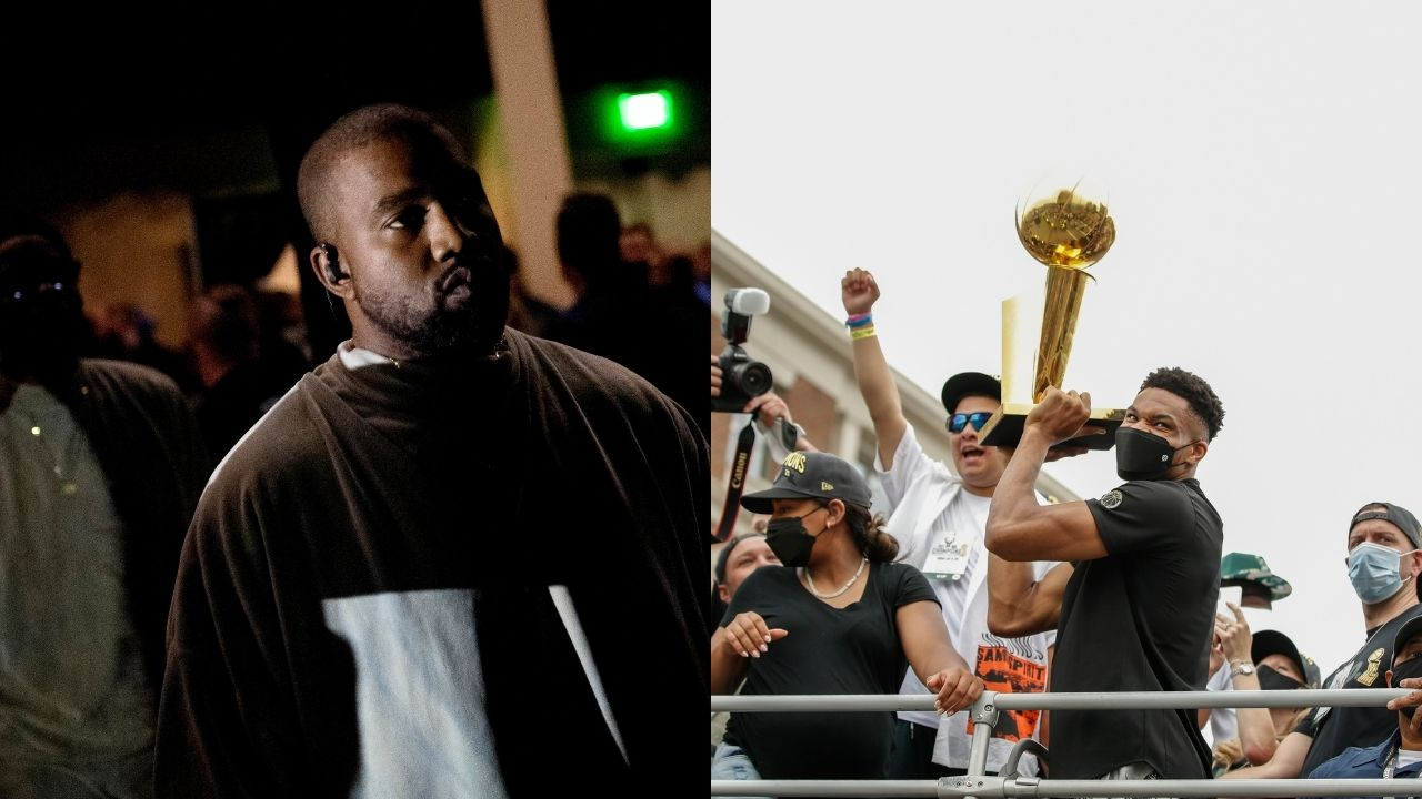 """""""I run with the Bucks boy, lemme Giannis"""": Kanye West shouts out the Bucks MVP on 'Donda' before Drake following Finals win over Chris Paul and Suns"""