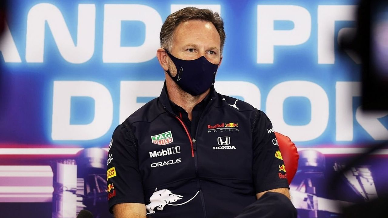 """""""It's his right to do that""""– Christian Horner is fine with Lewis Hamilton slowing down Max Verstappen in Q3"""