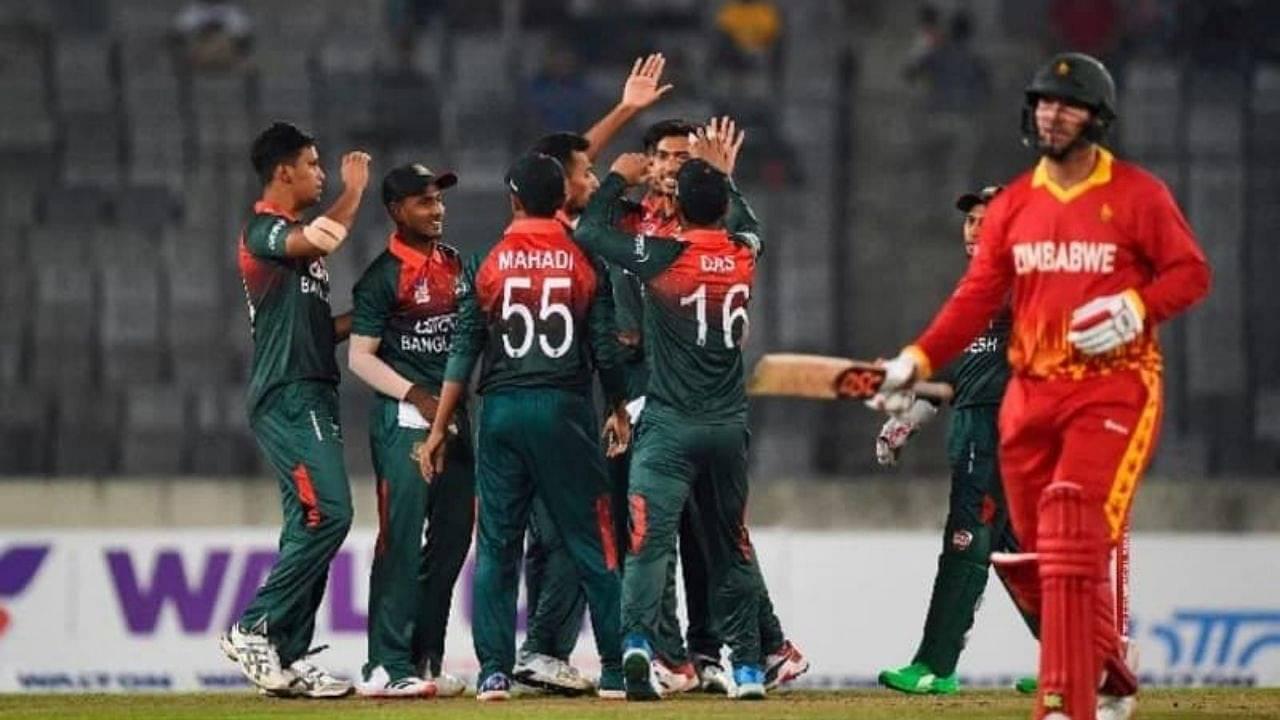 ZIM vs BAN Head to Head Records in ODIs | Zimbabwe vs Bangladesh Stats | Harare ODI
