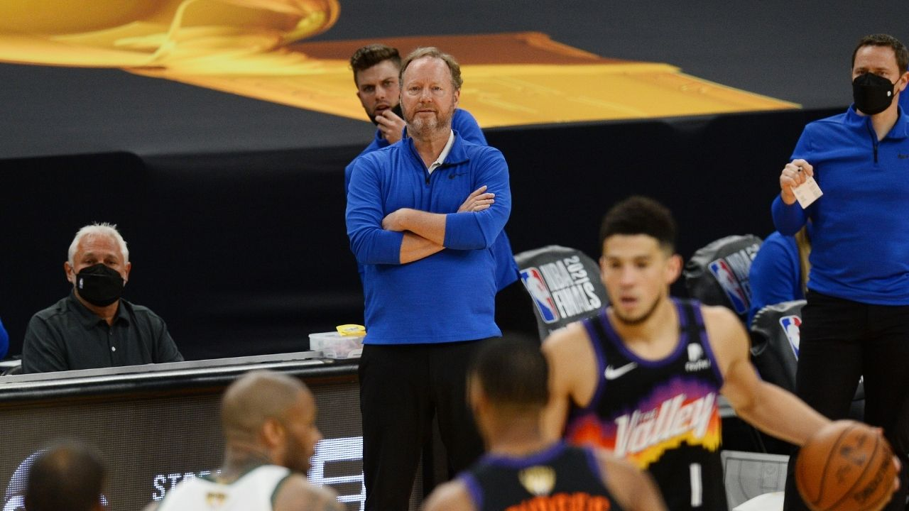 """""""I don't want people to realise how boring I am"""": Bucks' Head Coach Mike Budenholzer talks about nerves before Game 6 of the Finals"""