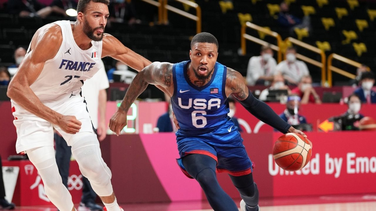 """""""Damian Lillard turned into Ben Simmons against France"""": NBA fans react to the Blazers star's abysmal performance in Team USA's loss to Rudy Gobert and co"""