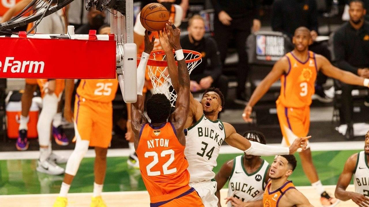 """Giannis' Block in Game Four of the NBA Finals clocks 24 million views on social media"": Bucks 2x MVP's incredible play garners historic numbers of social media views"